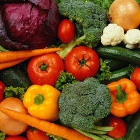 Groenten/fruit diepvries